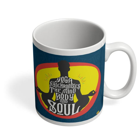 Yoga Coffee Mug Online India