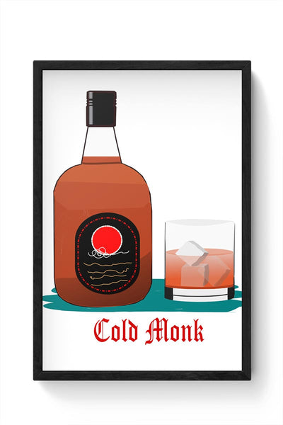 C old monk Framed Poster Online India