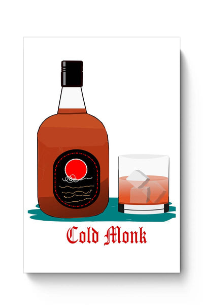 Buy C old monk Poster