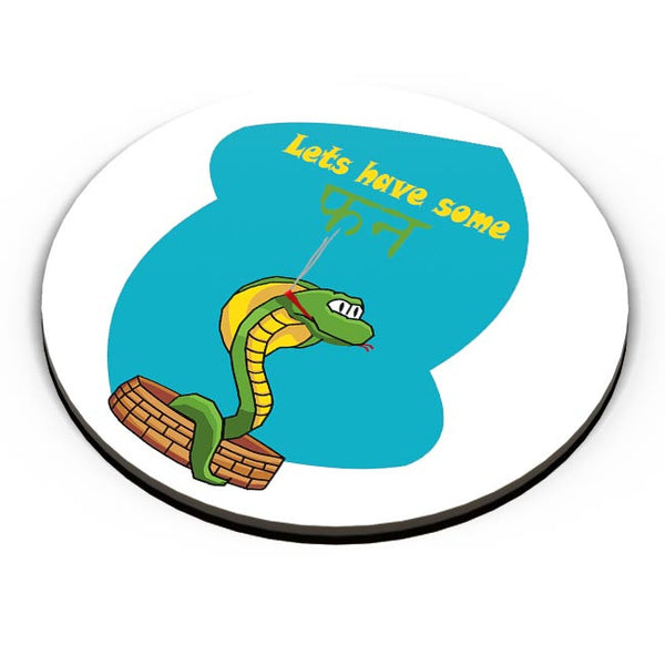 lets have some fun Fridge Magnet Online India