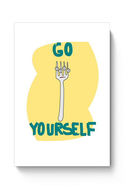 Buy Go Fork Yourself Poster