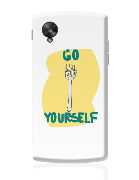 Go Fork Yourself Google Nexus 5 Covers Cases Online India