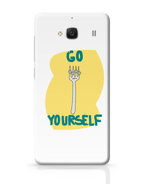 Go Fork Yourself Redmi 2 / Redmi 2 Prime Covers Cases Online India