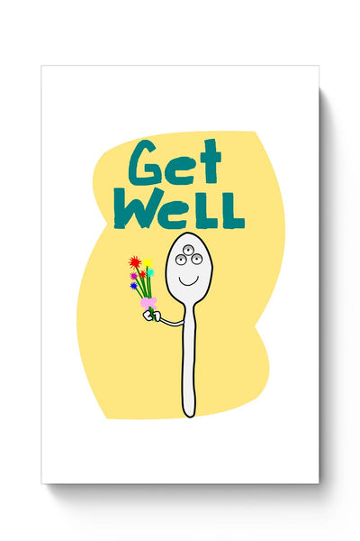Buy Get well spoon Poster