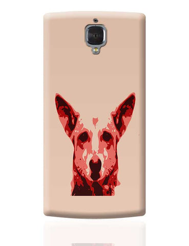 Abstract street dog OnePlus 3 Covers Cases Online India