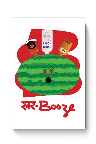 Buy khar booze watermelon drink Poster