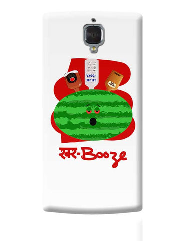 khar booze watermelon drink OnePlus 3 Covers Cases Online India
