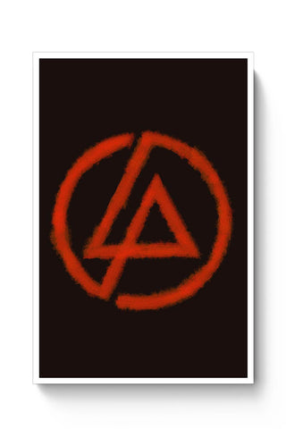 Linkin Park logo black Poster Online India
