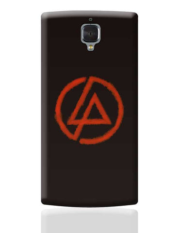 Linkin Park logo black OnePlus 3 Covers Cases Online India