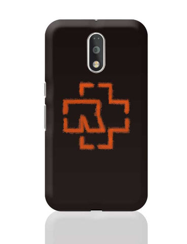 RAMMSTIEN Black Logo Moto G4 Plus Online India