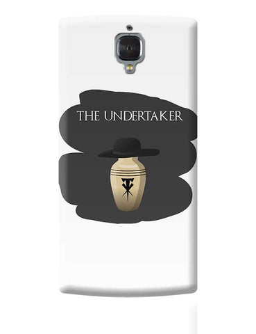 The Undertaker OnePlus 3 Covers Cases Online India