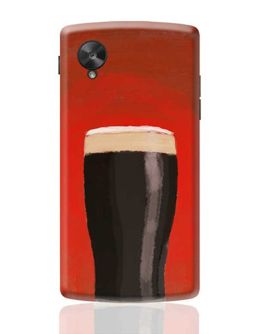 stout beer Google Nexus 5 Covers Cases Online India