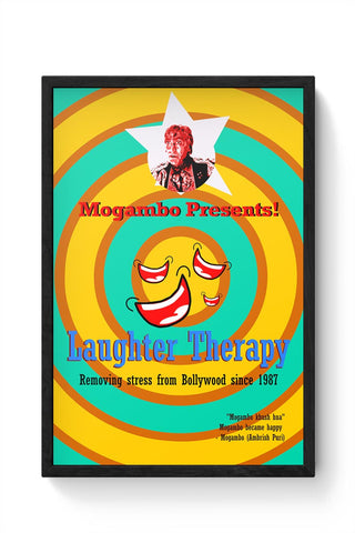 Mogambo Khush hua Framed Poster Online India