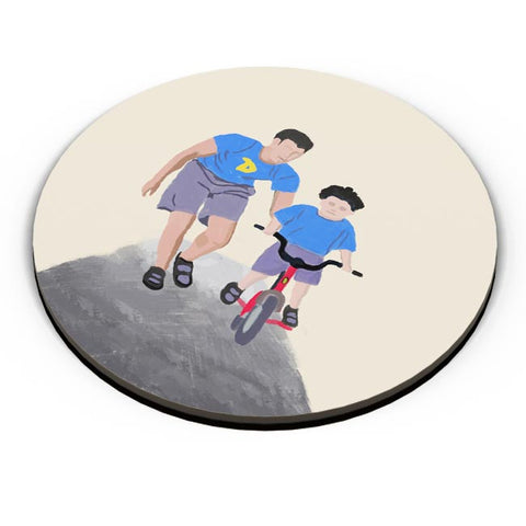 Fathers Day Cycle Lesson Fridge Magnet Online India