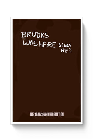 Buy the shawshank redemption movie poster Poster