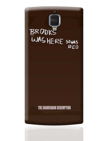 the shawshank redemption movie poster OnePlus 3 Covers Cases Online India
