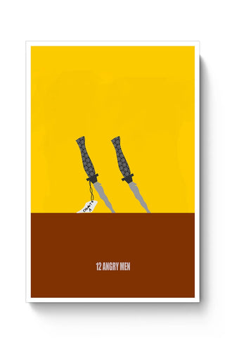12 Angry men poster minimal Poster Online India