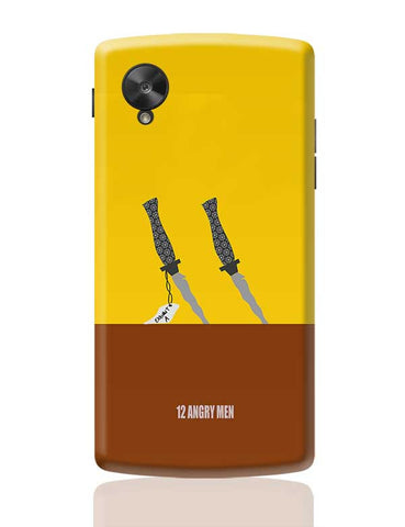 12 Angry men poster minimal Google Nexus 5 Covers Cases Online India