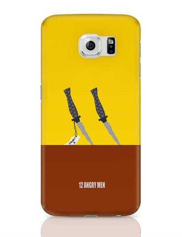 12 Angry men poster minimal Samsung Galaxy S6 Covers Cases Online India