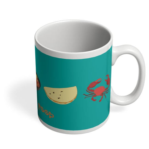 Love For Food Coffee Mug Online India