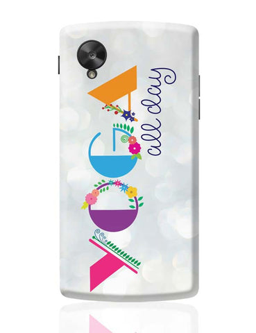 Yoga All Day!! Google Nexus 5 Covers Cases Online India