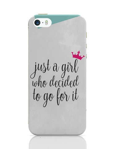 Just A Girl Who Decided To Go For It !! iPhone Covers Cases Online India