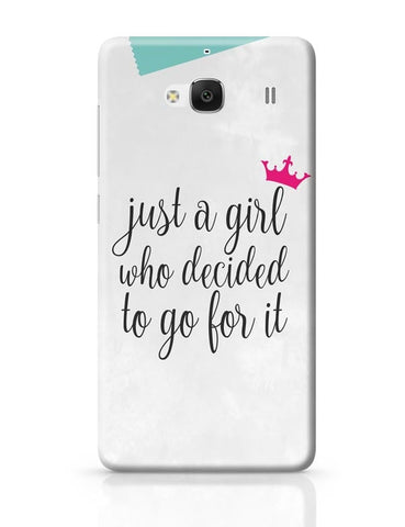 Just A Girl Who Decided To Go For It !! Redmi 2 / Redmi 2 Prime Covers Cases Online India