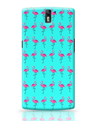 Flamingos !!! OnePlus One Covers Cases Online India