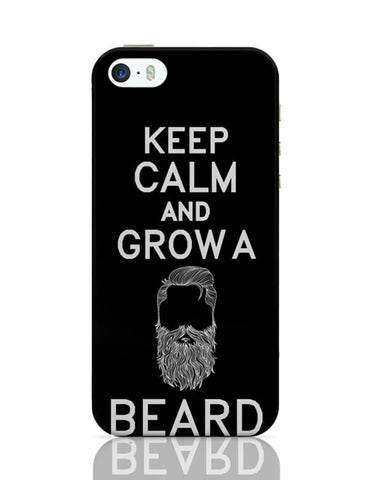 Keep Calm And Grow A Beard !! iPhone Covers Cases Online India