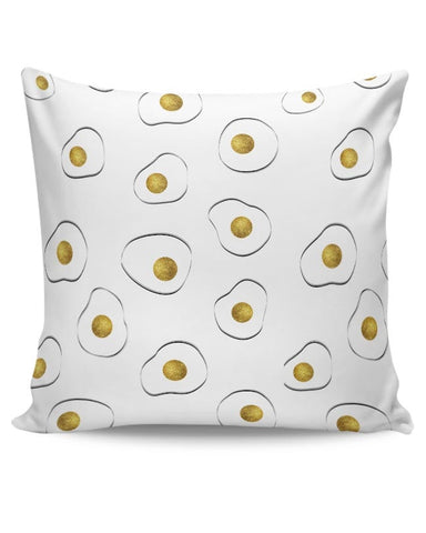 Golden Omelet !! Cushion Cover Online India