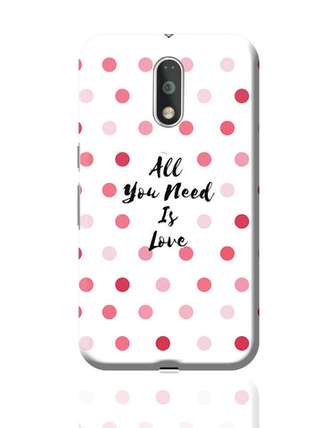 All You Need Is Love !! Moto G4 Plus Online India