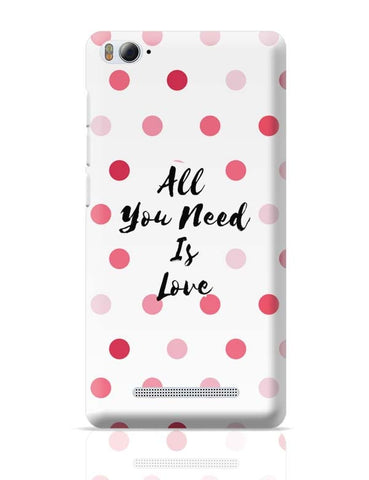 All You Need Is Love !! Xiaomi Mi 4i Covers Cases Online India