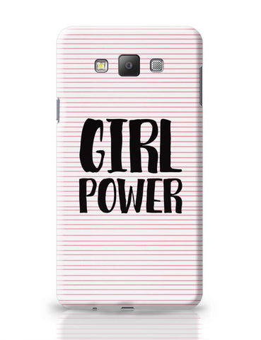 Girl Power!! Samsung Galaxy A7 Covers Cases Online India