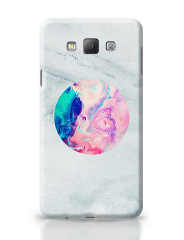 Marble With Psychedelic Circle!! Samsung Galaxy A7 Covers Cases Online India