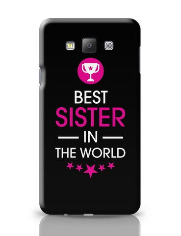 Best Sister - Rakshabandhan Special!! Samsung Galaxy A7 Covers Cases Online India