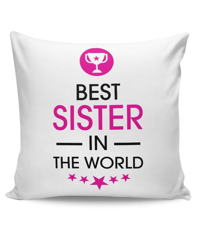 Best Sister-Rakshabandhan Special Cushion Cover Online India