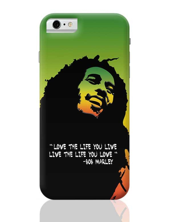 brand new 2aa62 303eb Bob Marley Quote Phone Case Cover