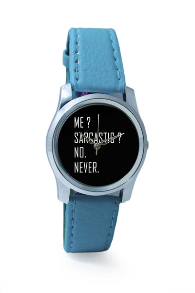 Women Wrist Watch India | Sarcasm v/s me Wrist Watch Online India