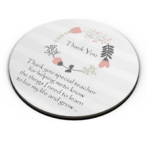 Thank You Teacher  Fridge Magnet Online India
