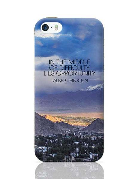 Start up Motivation Quote - Albert Einstein iPhone 5/5S Covers Cases Online India