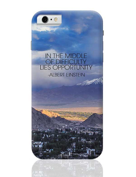 Start up Motivation Quote - Albert Einstein iPhone 6 6S Covers Cases Online India