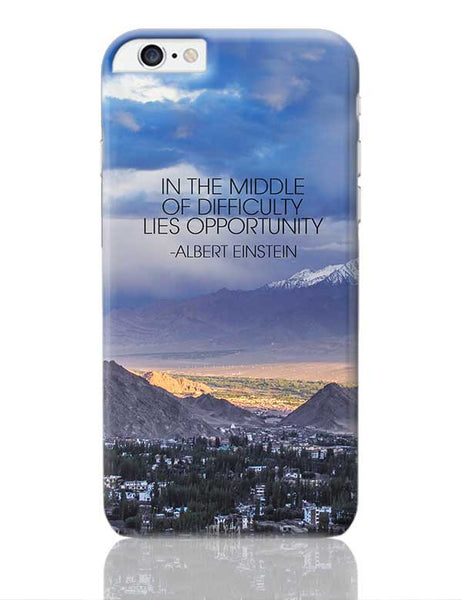 Start up Motivation Quote - Albert Einstein iPhone 6 Plus / 6S Plus Covers Cases Online India