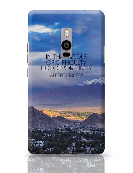 Start up Motivation Quote - Albert Einstein OnePlus Two Covers Cases Online India