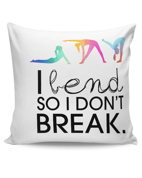 Yoga Inspiration Cushion Cover Online India