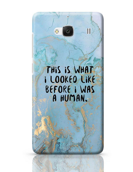 Enlightement - Before I was human  Redmi 2 / Redmi 2 Prime Covers Cases Online India