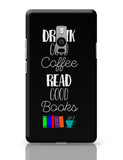 Good coffee & books !! OnePlus Two Covers Cases Online India