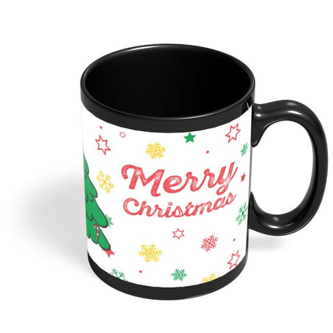 Merry Christams Black Coffee Mug Online India