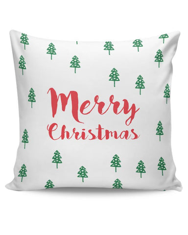 Merry Christmas minimal -Christmas Special Cushion Cover Online India