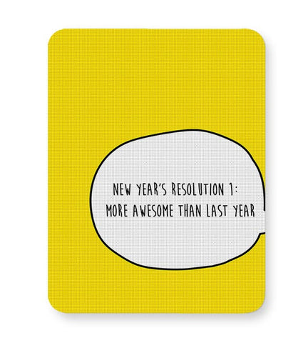 New Year Resolution  Mousepad Online India