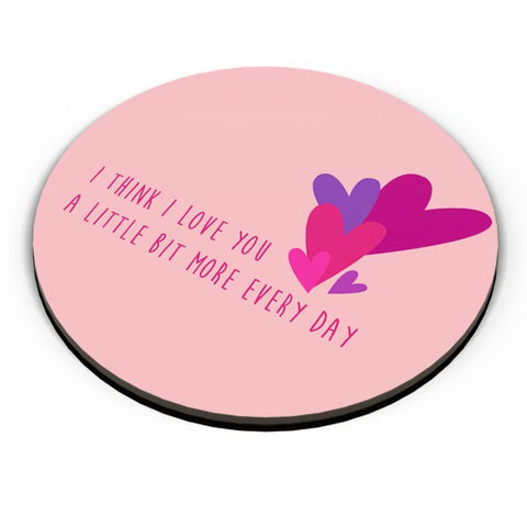I love you more everyday - Valentines day Special Fridge Magnet Online India